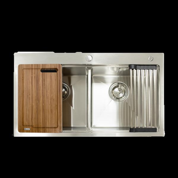 chậu rửa bát Topmount Series KN8850TD - kitchen sink