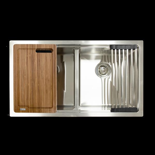 chậu rửa bát Undermount Series KN8046DUB - kitchen sink